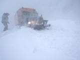 Sneeuwstorm Kaap Levashova